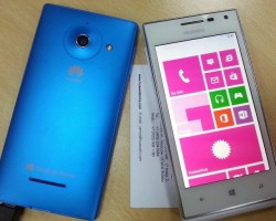 Новые снимки белого Huawei Ascend W1 на Windows Phone