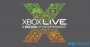 Xbox Live - 10 лет
