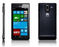 Huawei Ascend W1 и W2 – смартфоны на Windows Phone 8, намеченные на CES 2013