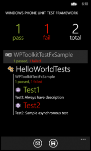 Windows Phone Toolkit для WP-8