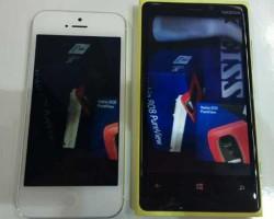 Сравнение Nokia Lumia 920 с iPhone 5