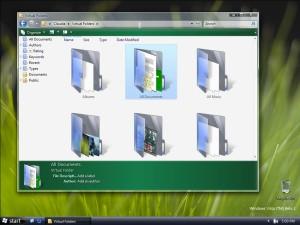 Папки в настольной Windows