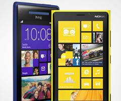 Смартфон Nokia Lumia 920 вышел в продажу в России, а HTC 8X – в Украине
