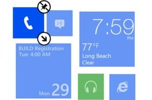 Как менять размер плиток в Windows Phone 8