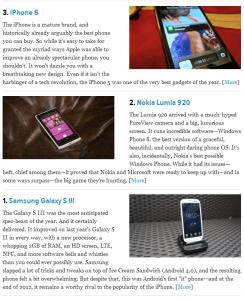 Lumia 920 - для Gizmodo, увы, только вторая...