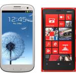 Lumia 920 против Galaxy S3