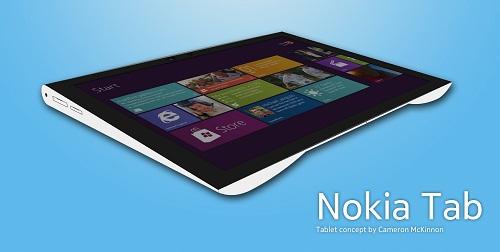 Nokia Tablet. Концепт