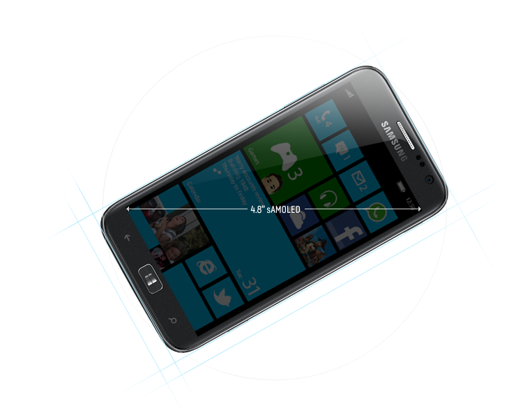 Windows Phone 8 - смартфон Samsung ATIV S