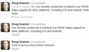 Официально опровержение: Nokia не будет делать Android-устройства