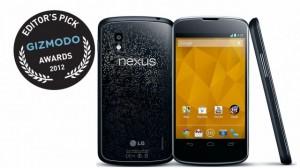 Google Nexus 4 - выбор редакции Giszmodo