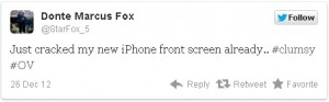 Только что треснул дисплей моего нового iPhone..