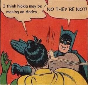 Nokia будет делать смартфоны и планшеты на Android?