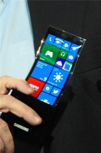 Гибкий Windows Phone 8-смартфон от Samsung