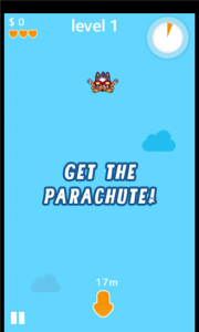 Get the parachute