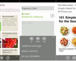 Обновление Evernote для смартфонов Nokia Lumia