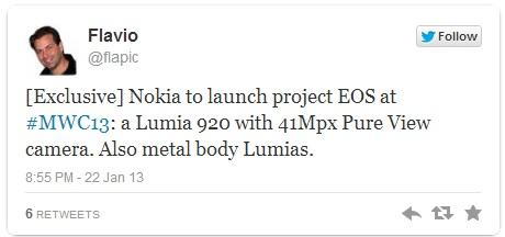 Nokia Lumia 920 с 41 Мп камерой PureView - быть!