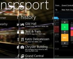 Nokia Transport для Lumia на WP 7.5: обновление до v3.3