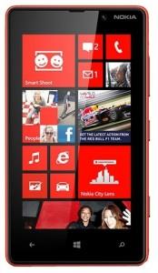Внешний вид Lumia 820