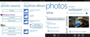 Photostream Skydrive Integration