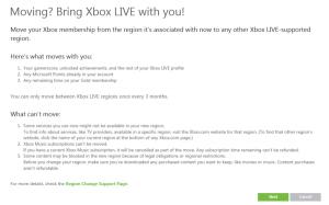 Xbox Migration Details