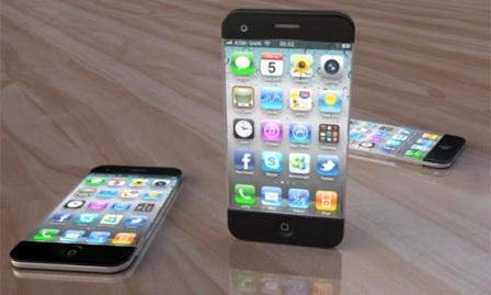 iPhone 5. Концепт-изображение