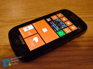 Windows Phone 7.8 SDK