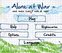 WP7 и WP8-игра Alone At War Free - истр-р-ребляй!
