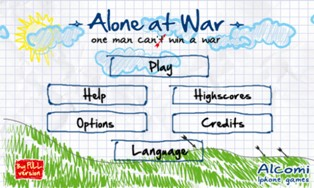 WP-игра Alone at War