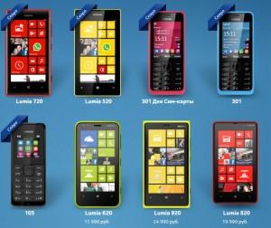 Россыпь новинок от Nokia с MWC-2013