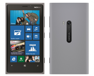 Серая Nokia Lumia 920