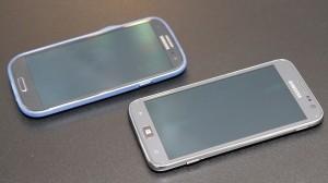 Samsung Galaxy S III и Samsung ATIV S