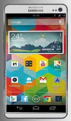 Samsung Galaxy S 4 - фото (возможный внешний вид)