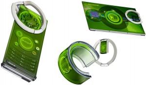Гибкий смартфон Nokia Morph