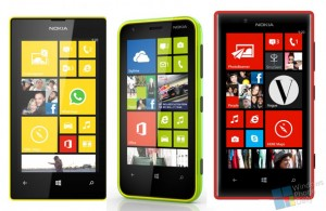 Nokia Lumia 520, 620 и 720