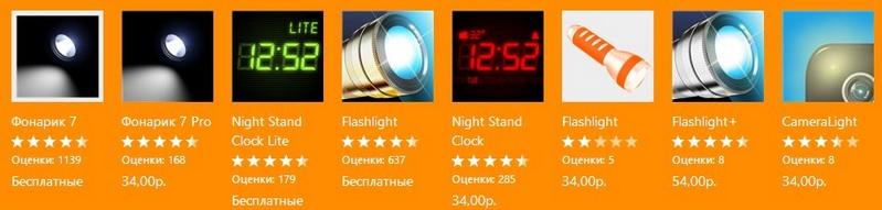 Иконки приложений для Windows Phone - антипримеры