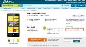 Nokia Lumia 520 - начало продаж