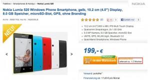 Nokia Lumia 520 - купить в Computeruniverse