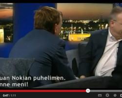 Глава Nokia выбросил iPhone в эфире финского телевидения