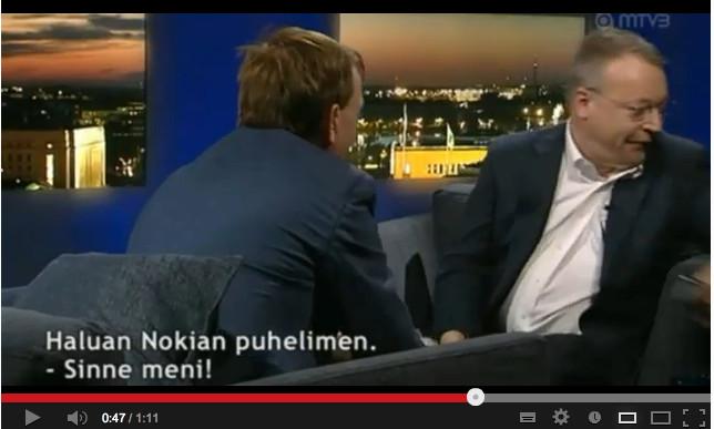 Стивен Элоп выбросил новый iPhone в прямом эфире финского телевидения