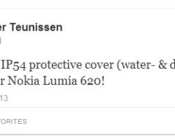 Nokia будет выпускать смартфоны с водооталкивающим покрытием?