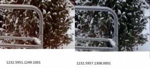 Сравнение снимков