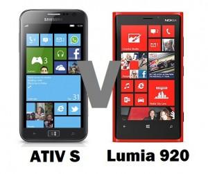 Samsung Ativ S и Nokia Lumia 920