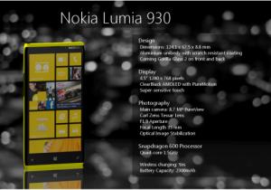 Концепт Nokia Lumia 930