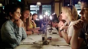 Ужин при свечах (mac morrison, Лондон)