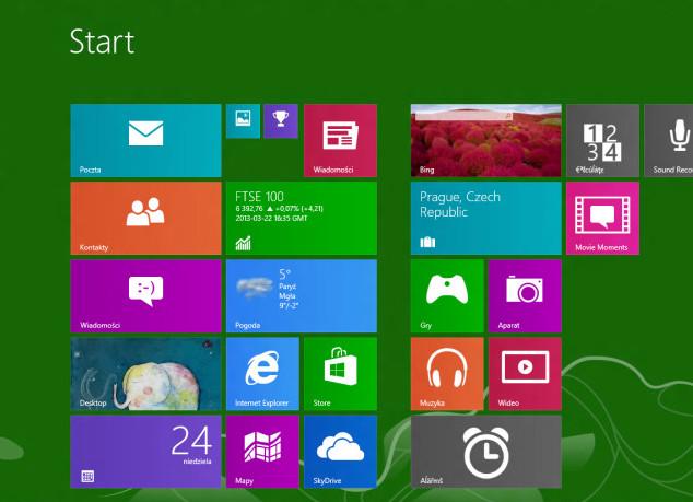 Windows Blue - скриншоты