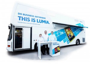 Lumia Roadshow Bus
