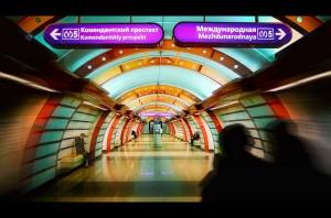Яркий туннель (Nik Van Vinci, Санкт-Петербург)