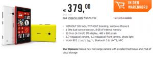 Nokia Lumia 720 в Cyberport