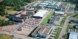 Завод Nokia в Сало, Финляндия
