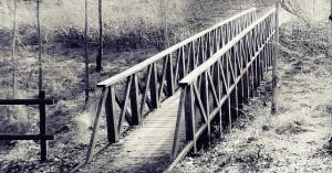 Заиндевелый мостик (A Henning, Швеция)
